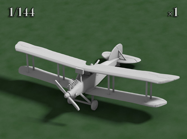 1/144 Albatros J.I 3d printed Computer render of the actual model