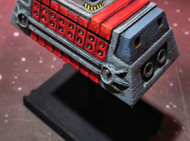 2x Class-A Cargo Container 3d printed Printed and painted