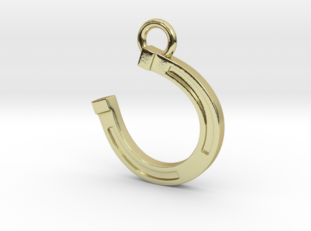 Lucky Horseshoe 3d printed