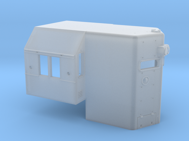 N Scale SD45 High Hood for SOU units 3d printed