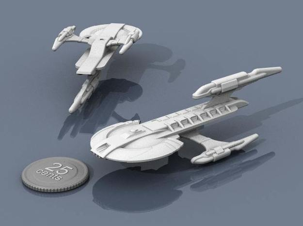 Xuvaxi Magistrate 3d printed Renders of the model, plus a virtual quarter for scale.