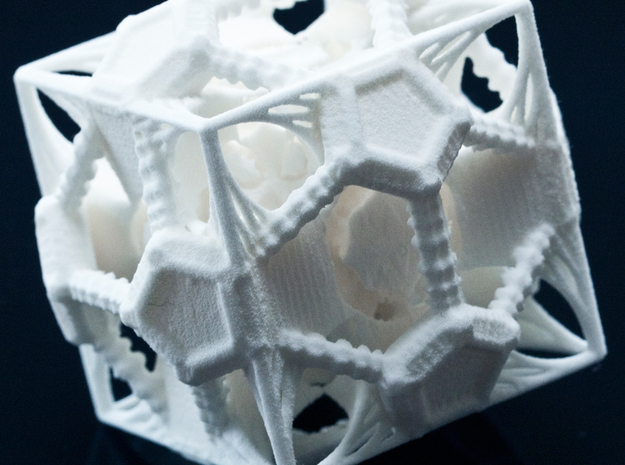 Kepler's Fractalic Mystical Solution 3d printed