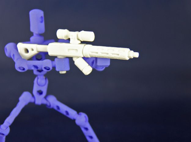 ModiBot 'Recon' System Firearm Set 3d printed Plasma rifle