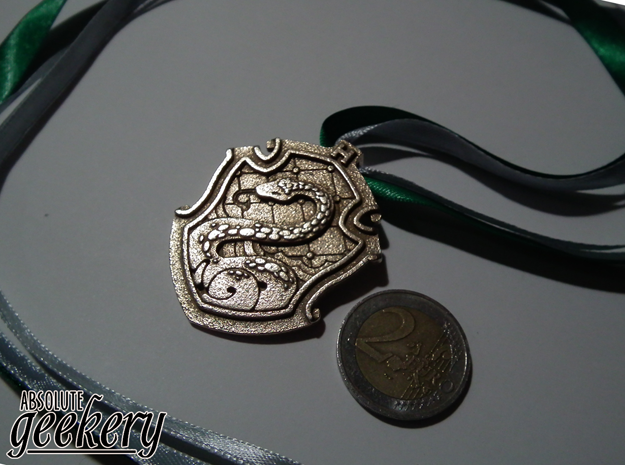 Slytherin House Crest - Pendant SMALL