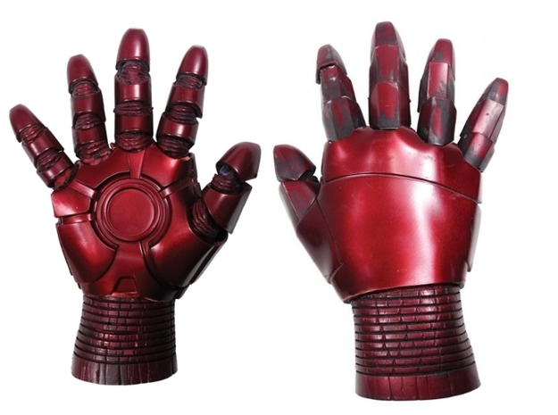 Iron Man Gauntlet replica 3d printed