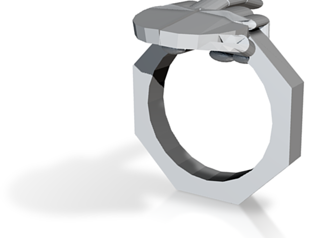 Finger Ring 3d printed
