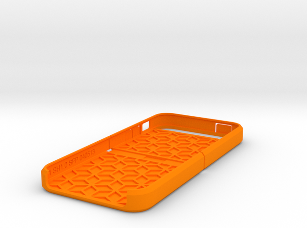"Cariband case for iPhone 5/5s, ""holds stuff"" 3d printed"