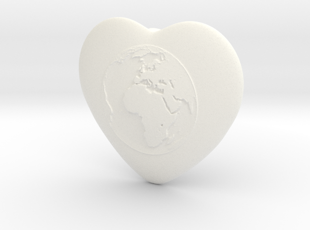 One World - One Humanity 3d printed