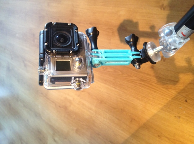 GoPro mounting part 7 cm 3d printed