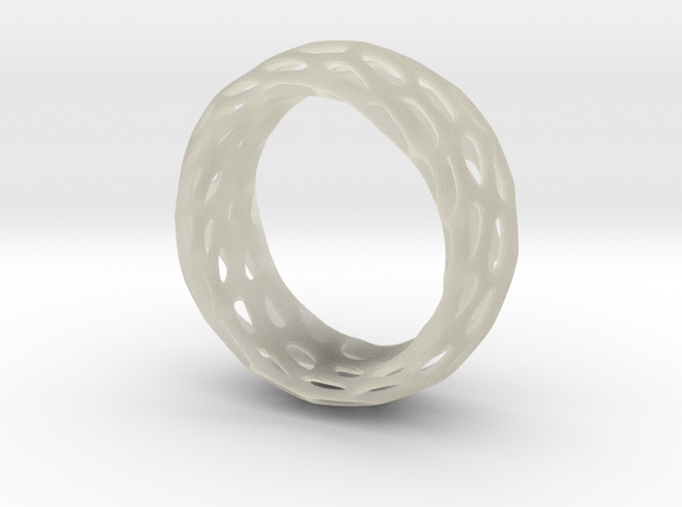 Trous Ring Size 4 3d printed