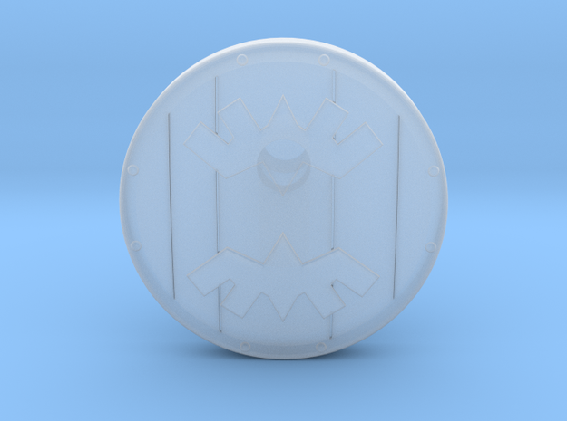 Banded Shield 3d printed