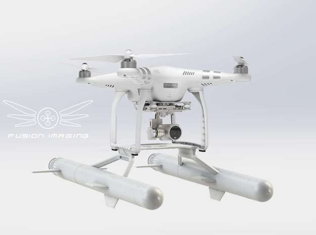 Floating DJI Phantom 3 - Fusion Marine FM1