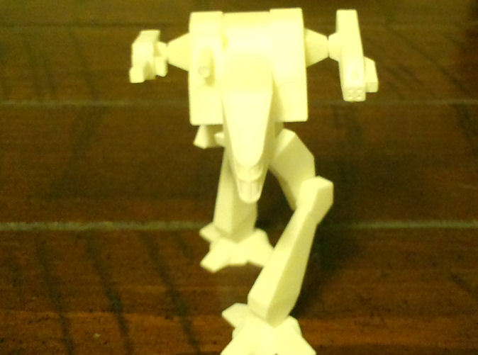 Here he is in White Strong & Flexible material