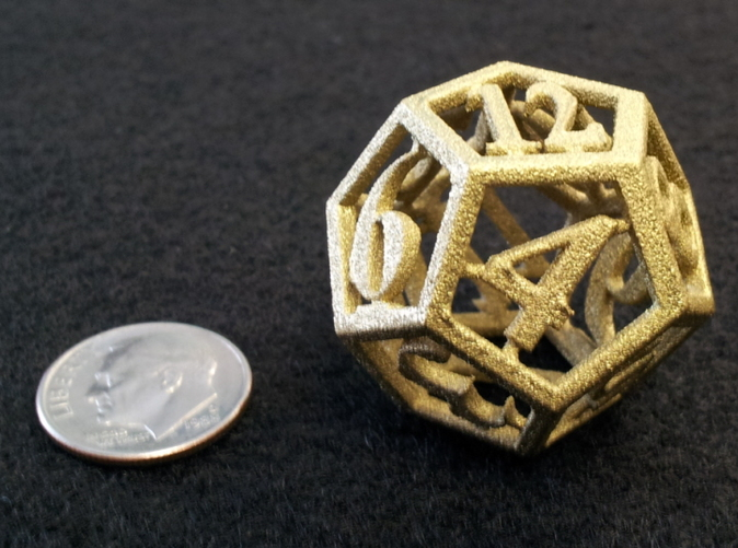 White strong painted gold
