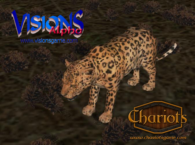 Leopard from Visions and Chariots - screenshot from Visions alpha