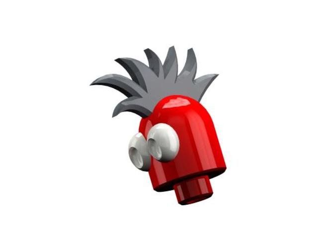 Magnetic Mohawk Head