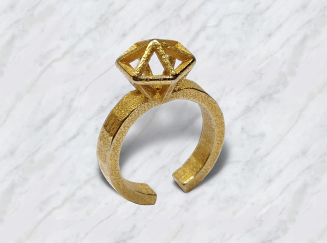 Gold Stereodiamond 2