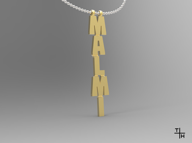 Render with 3mm ballchain