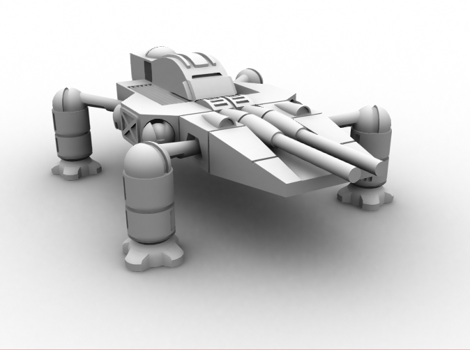 CG image of the actual model