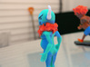 Blue Bison (GWB Character) 3d printed