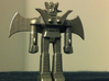 Mazinger Z with Jet Scrander and Iron Cutters 3d printed Mazinger in stainless steel!