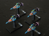 JAL101 Phoze Missile Patrol Cutter (x4) 3d printed