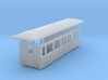 OO9 tramway center brake composite coach 3d printed