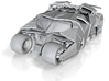 Batman - Tumbler Car [1/48 & Hollow] 3d printed