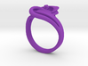 Intertwined Ring 3d printed