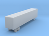 48 Foot Box Trailer - Z scale 3d printed