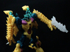 Transformers Beast Hunters Legion Abominus Arsenal 3d printed Twinstrike with Sinbolter