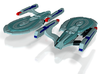 USS Oakes 3d printed