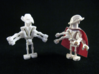 General Minifigure 3d printed While Strong & Flexible