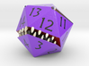 D20 Purple Monster Figurine 3d printed