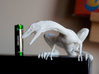 Compy dinosaur desktop figurine 3d printed White, Strong and Flexible