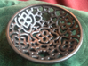 Squiggle Soap Dish 3d printed Top View