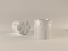 Revolver Cylinder Cup 55ml 3d printed rendered