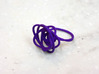Sprouted Spiral Ring (Size 7) 3d printed Purple Strong and Flexible