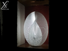Yin-Yang Lamp (33.3 cm) 3d printed Printed lamp with a 5W LED inside.