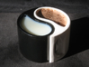 Yin Yang Mug 3d printed Milk and Hot Chocolate not included.