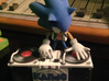 Sonic DJ Kanjo (Commission) 3d printed