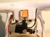 Phantom 2 Battery Door 19.5mm with NAZA v2 LED hol 3d printed