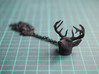 Deer Head Pendant 3d printed Deer Head Pendant - Black