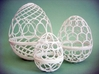 Nested Eggs 3d printed The set.