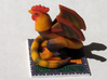 Cockatrice 3d printed Cockatrice on his stand.