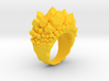 Double Crystal Ring Size 8 3d printed