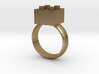 Building Blocks Ring 3d printed