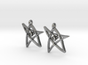 Derleth Elder Sign Earring (Pair) 3d printed