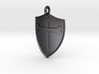 Medieval Shield Pet Tag / Pendant 3d printed