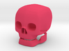 skull with movable jaw 3d printed
